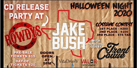 Jake Bush CD Release Party W/Trent Cowie Band tickets