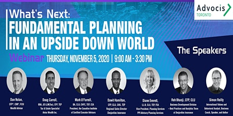 Advocis Toronto PD Day -  Fundamental Planning in An Upside Down World tickets