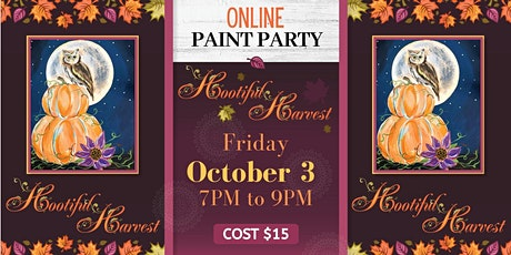 Hootiful Harvest Paint Party tickets
