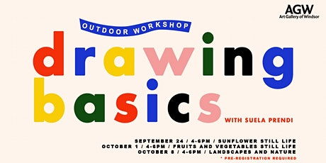 Outdoor Workshop: Drawing Basics tickets