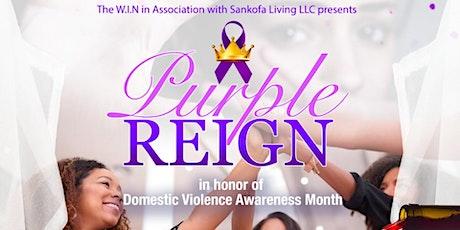 W.I.N / Sankofa Living LLC Purple Reign Mix & Mingle Appreciation Party tickets