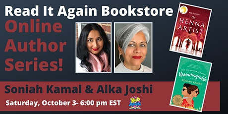 An Online Conversation with Soniah Kamal and Alka Joshi tickets