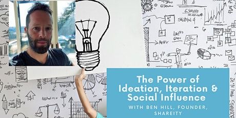 The Power of Ideation, Iteration & Social Influence with Shareity tickets
