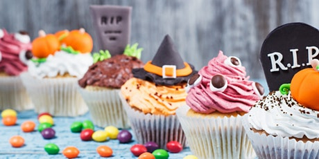 Halloween Cupcake Baking class - Kid's Friendly tickets