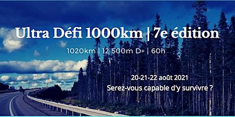 Ultra Défi 1000km | 7éme édition billets