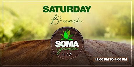 SOMA Garden - Brunch tickets