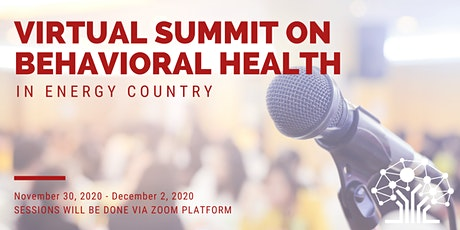 Summit on Behavioral Health in Energy Country tickets