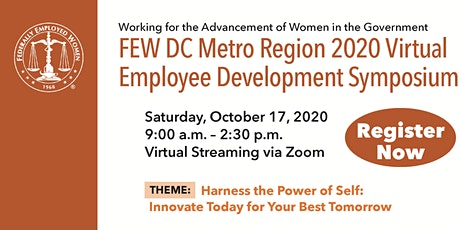 FEW DC Metro Region 2020 Virtual Employee Development Symposium tickets
