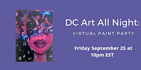 DC Art All Night: Virtual Paint Party tickets