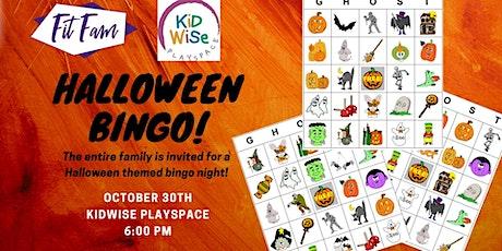 Family Halloween Bingo tickets