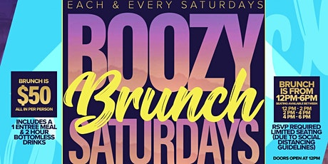 Boozy Brunch Saturdays at Greenwich Sports Tavern tickets