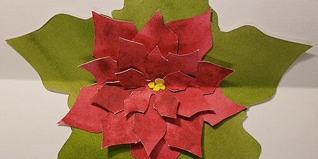 Youth Class: Origami Poinsettia Pop-Up Card tickets