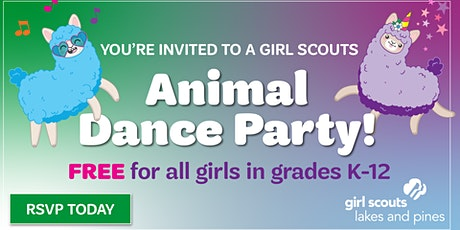 Animal Dance Party: Girl Scout Sign-up (Parkers Prairie) tickets