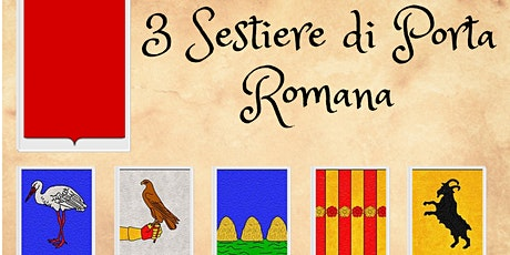 Nr. 3 Sestiere di Porta Romana biglietti