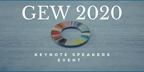 Global Entrepreneurship Week- Keynote Speakers tickets