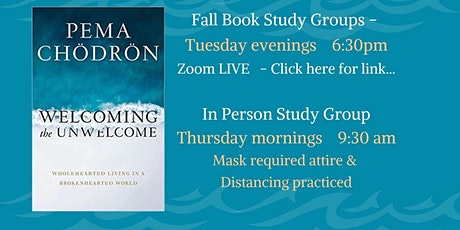 """""""Welcoming the Unwelcome"""" Thursday Morning Book Study tickets"""
