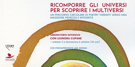 Laboratorio di poetry therapy con Leonora Cupane biglietti