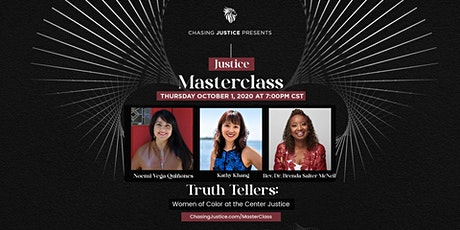 Truth Tellers: Women of Color at the Center Justice tickets