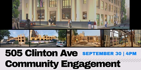 505 Clinton Ave. Community Engagement tickets
