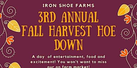 Iron Shoe Farm 3rd Annual Fall Harvest Hoe Down tickets