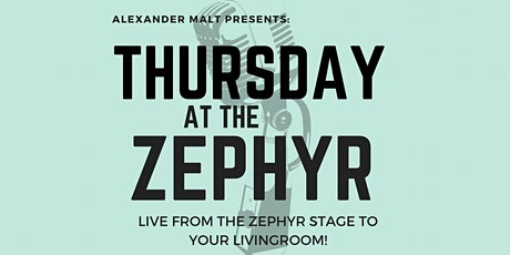 Thursday At The Zephyr!: Laughter is Almost as Good as Medicine billets