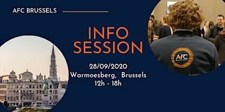 Information session at Warmoesberg tickets