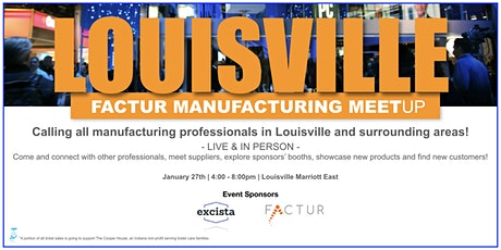 Louisville Factur Manufacturing Meetup tickets