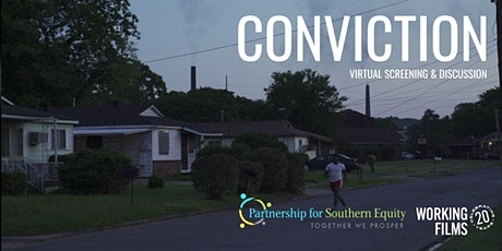 Conviction - Virtual Screening + Discussion tickets