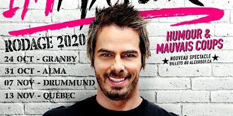 Alex Roof - Rodage pour IMMATURE - Granby - Samedi 24 Oct 2020 - 20h tickets