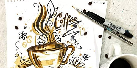 Virtual Paint Party:  Coffee Art tickets