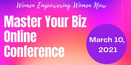 Master Your Biz Online Conference tickets