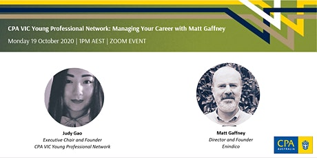 CPA YPN: Managing Your Career with Matt Gaffney tickets