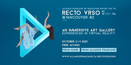 Recto VRso @Vancouver 2020 | Art Gallery experienced in Virtual Reality tickets