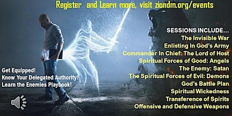 The Unshakeable Kingdom: Spiritual Warfare Webinar Series tickets