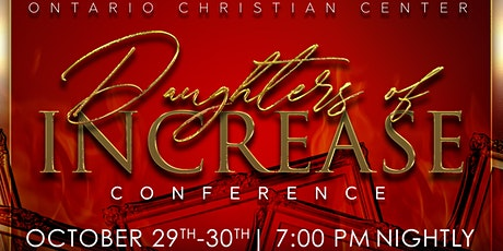2020 DAUGHTERS OF INCREASE CONFERENCE tickets