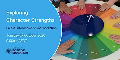 Exploring Character Strengths Online Workshop (October 2020) tickets