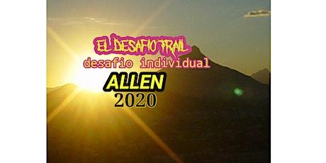 """El desafio trail """"desafio individual virtual """", entradas"""