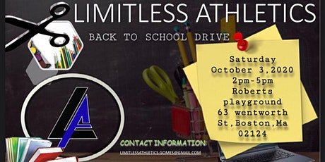 Limitless Athletics Back to School Drive tickets