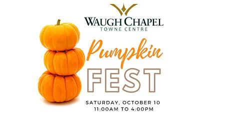Pumpkin Fest at Waugh Chapel Towne Centre tickets