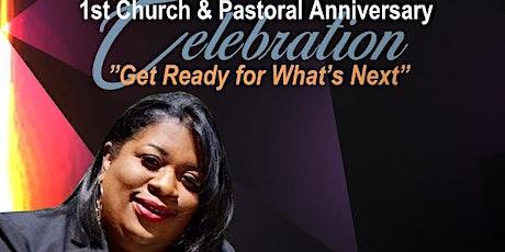 Pastor Christina Brinson: 1st Pastoral and Church Anniversary tickets