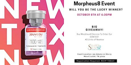 Big Giveaway Contest- Morpheus8 Event tickets