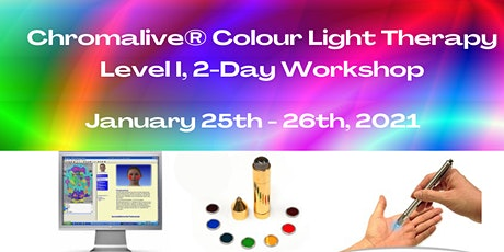 Chromalive® Colour Light Therapy, Level I, 2-Day Workshop tickets