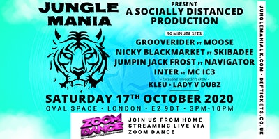 Jungle Mania. Zoom Dance. The online Rave.