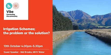 Irrigation Schemes; the problem or the solution? tickets