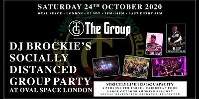 DJ Brockie's  Socially Distanced Group Party