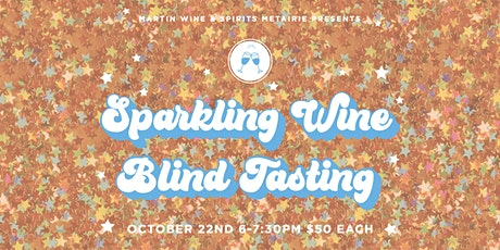 Sparkling Wine Blind Tasting tickets
