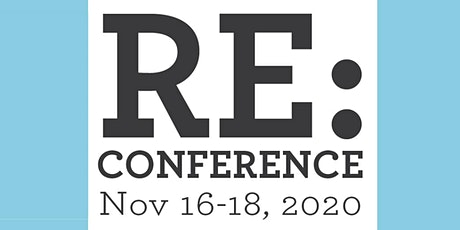 2020 RE:Conference tickets