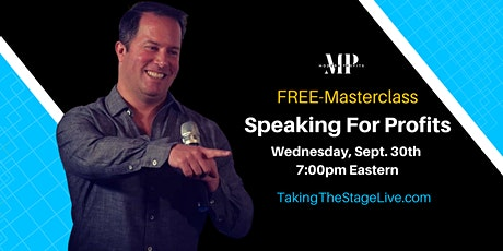 Speaking For Profits Masterclass tickets