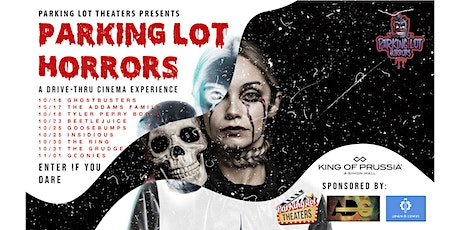 Parking Lot Horrors 2020 at King of Prussia Mall tickets