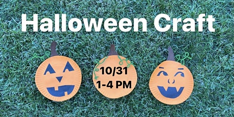 Halloween Craft tickets